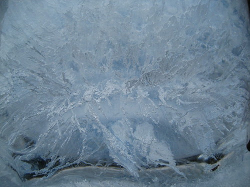 ice pot, closeup