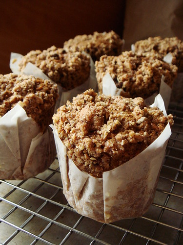 Carrot Muffin With Streusel