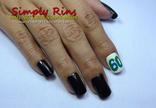 Nail Art Earth Hour 03