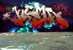 SECRET OF THE OOZE (ALL CHROME) Tags: urban streetart money canon graffiti weed explorer banksy spraypaint pats obama dubstep rath kemer kem allchrome kem5 kems kemr