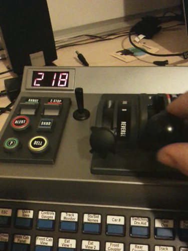RailDriver technical problems