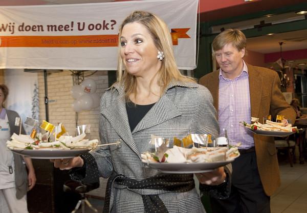 Princess Maxima and Prince Willem-Alexander