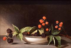 Eat the Magic Berries (Thomas Hawk) Tags: sanfrancisco california goldengatepark usa deyoungmuseum fruit painting berries unitedstates unitedstatesofamerica deyoung blackberries raspberrys peale blackberrys raphaellepeale