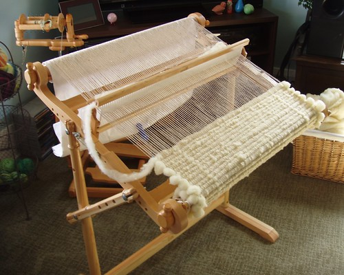 weaving with roving