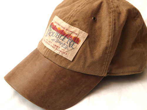 RRL / Canvas & Leather Cap