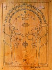 Durin's Door 3 (Detail)