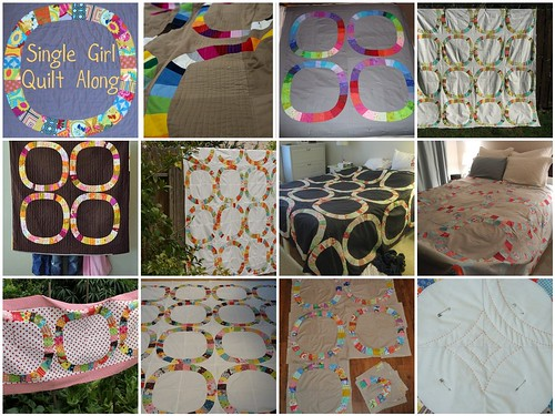 Single Girl Quilt Along ~ almost there :)