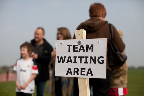 Team waiting area