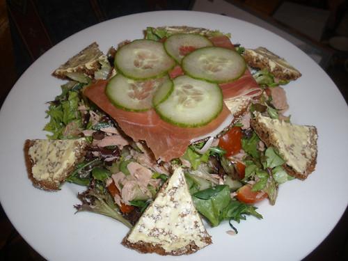 Tuna salad, parma ham sambo..