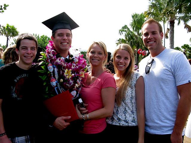 Family @ Graduation 2010
