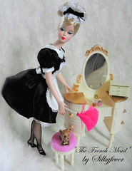 French Maid 2 Silkstone Barbie (Silkyfever) Tags: french barbie maid the silkstone bfmc silkstonebarbie silkyfever