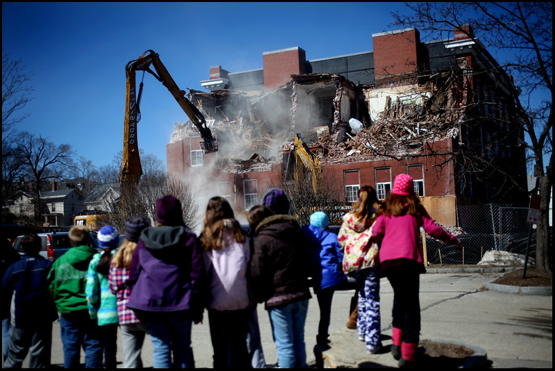 Kimball School demolition