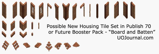 Ultima Online - Housing tile - Publish 70 - Board and Batten Tile Set.