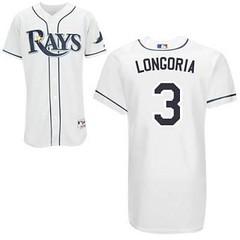 Tampa Bay Rays #3 Evan Longoria White Home Jersey (Terasa2008) Tags: jersey tampabayrays  cheapjerseyswholesale cheapmlbjerseys mlbjerseysfromchina mlbjerseysforsale cheaptampabayraysjerseys