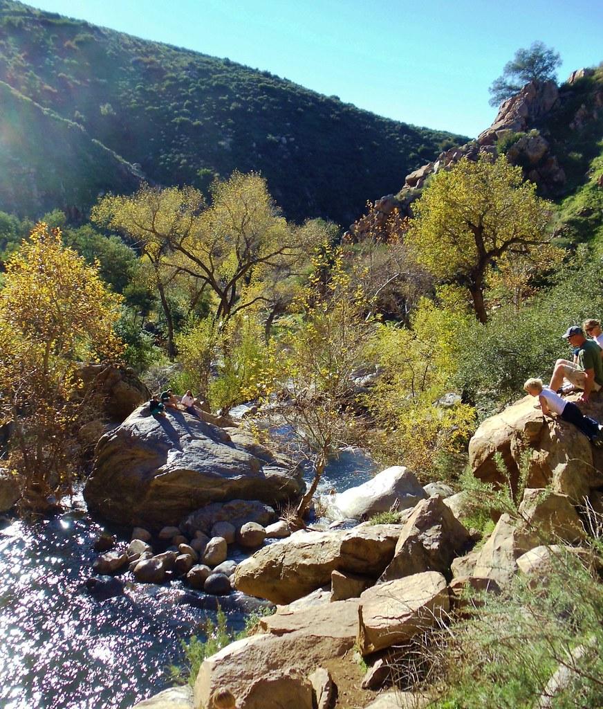 High water at Cedar Creek Falls