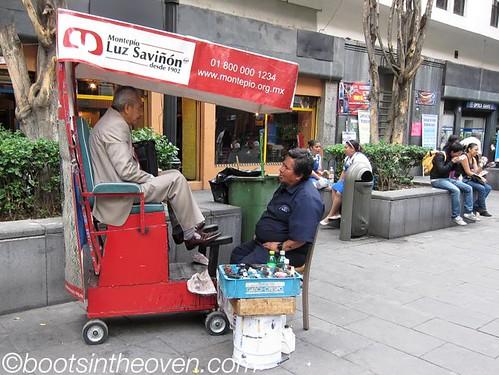 Shoeshine place - one of millions