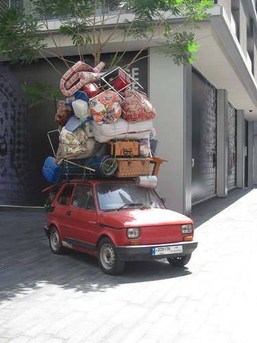 Loaded Car at DIFC