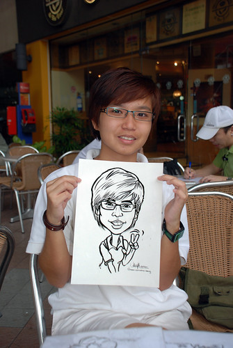 Caricature live sketching for VWR - 1