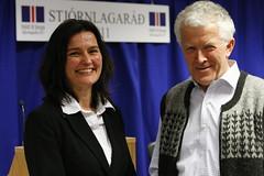 Salvör Nordal formaður Stjórnlagaráðs, Ari Teitsson varaformaður