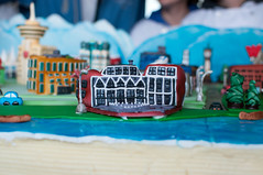 The city, on a cake!