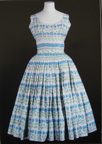 book blue white dress