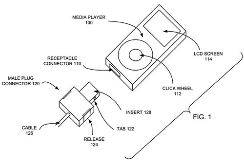 Apple Dock Patent USB 3 and Thunderbolt