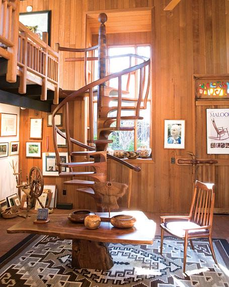 Maloof Foundation Stairs