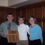 2006 recipients, Kevin Laley and Diane Lunman -