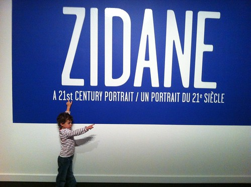 Zidane at Glenbow Museum in Calgary