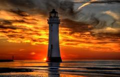 Looking West (Tony Shertila) Tags: sunset sea england sky lighthouse inspiration water weather night clouds golden europe cloudy britain group explore hdr wallasey wirral 1000views newbrighton the yahooweather platinumheartaward mygearandme mygearandmepremium artistoftheyearlevel4 theinspirationgroup