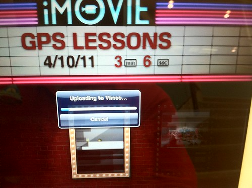 Uploading iPad iMovie to Vimeo