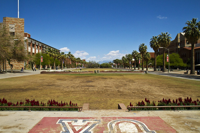 University of Arizona campus.