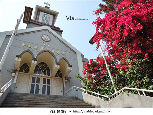 【台中景點】柳原教堂~百年歷史風華教堂,新人婚拍最愛!24