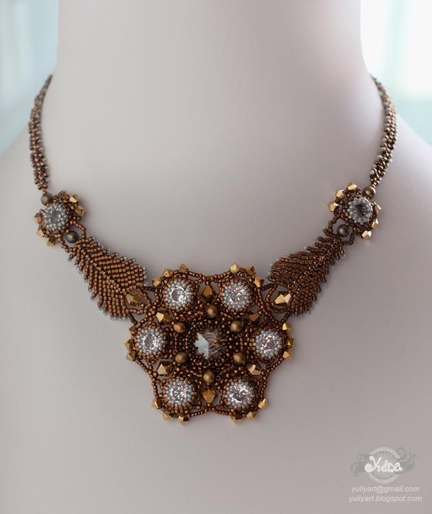 necklace and earrings Casual Opulence
