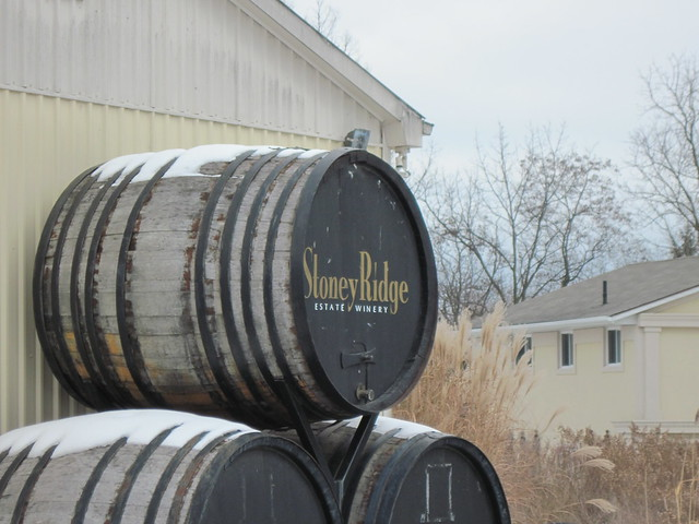 Stoney Ridge Estate Winery - Winter 2011 - NiagaraWatch.com