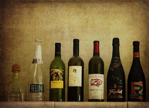 Bottles by laguglio