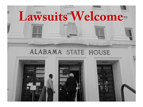 Lawsuits Welcome in Alabama