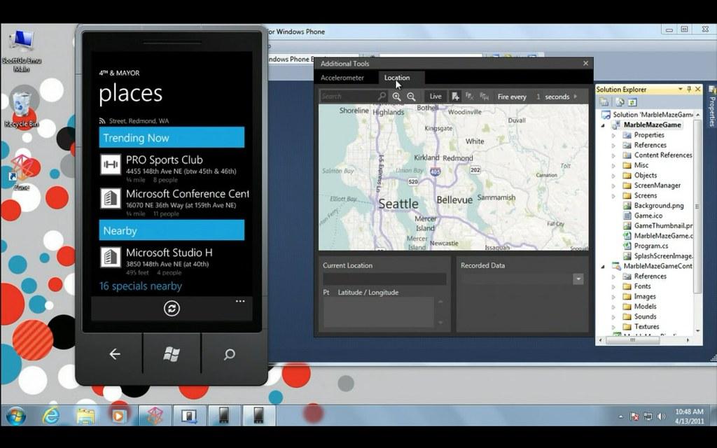 les application de windows 7