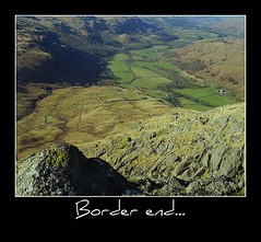 View from Border end. (Wainwright Warrior) Tags: mountains roman fort hard lakedistrict hills cumbria picnik eskdale knott borderend