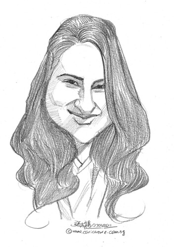 caricature in pencil - 38
