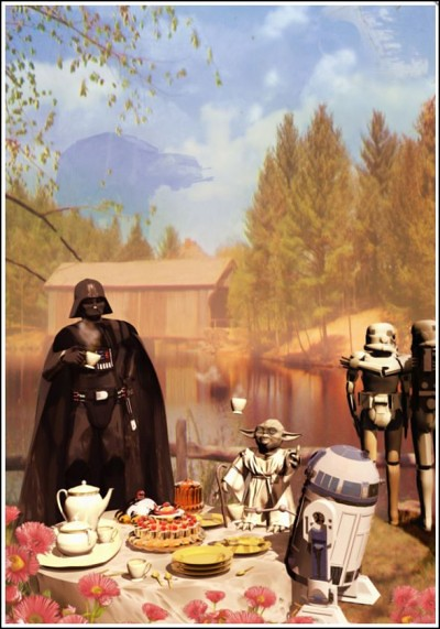 Postcards from the Empire