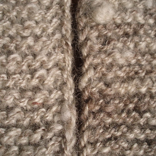 experimenting for BF's handspun adult tomten by Jared Flood
