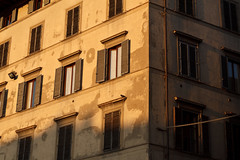 The Rooms with the View (dcis_steve) Tags: sunset italy building window florence shutters firenze