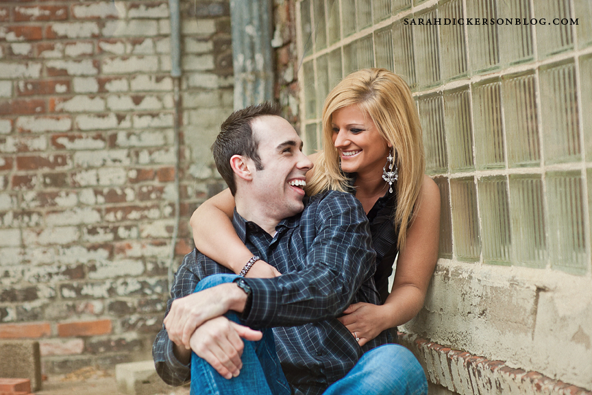 Kansas City West Bottoms engagement session