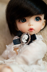 black gold (kerrimaknolli) Tags: doll handmade bjd fairyland fee ante ltf  littlefe
