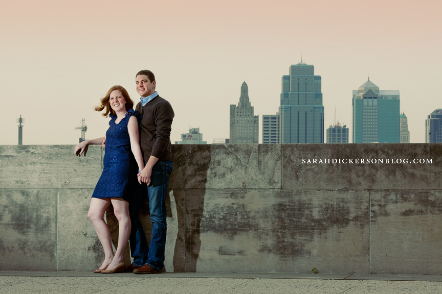 Liberty Memorial Kansas City engagement session