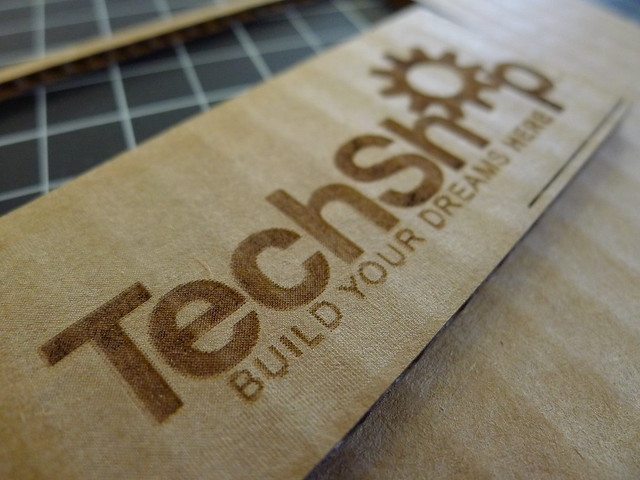 Laser Cutting at TechShop
