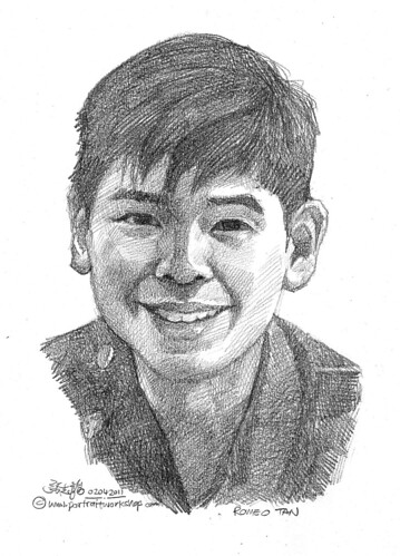 portrait in pencil 02042011