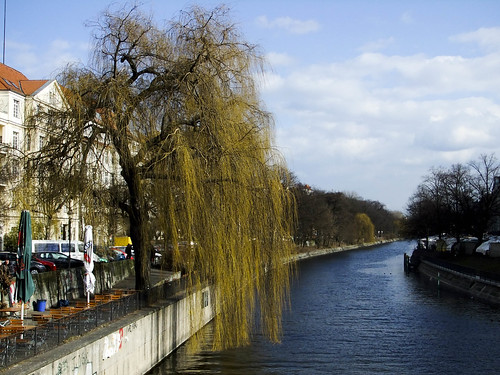 Weeping Willow and Canal, Berlin