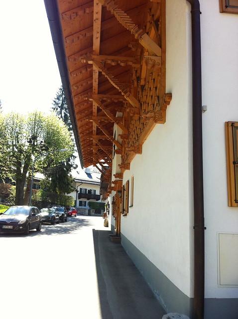 Schnitzereien in Partenkirchen